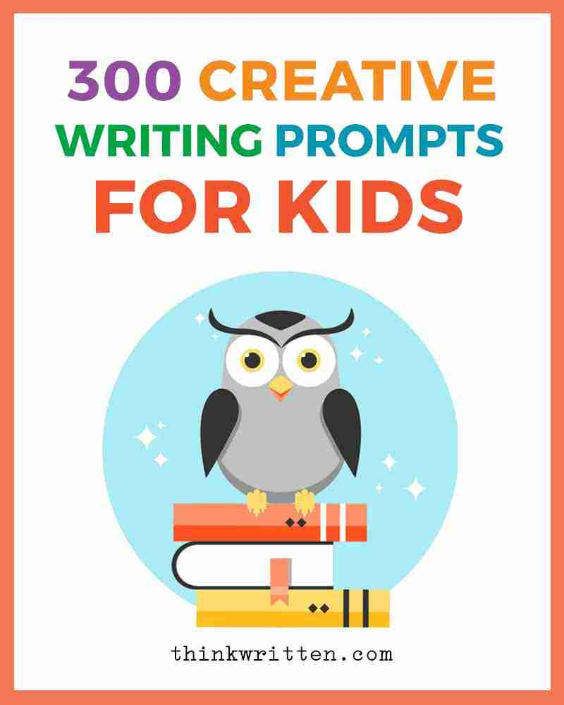 300 creative writing prompts for kids